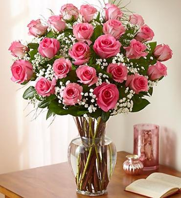 "Ultimate Eleganceâ""¢ Premium Long Stem Pink Roses"