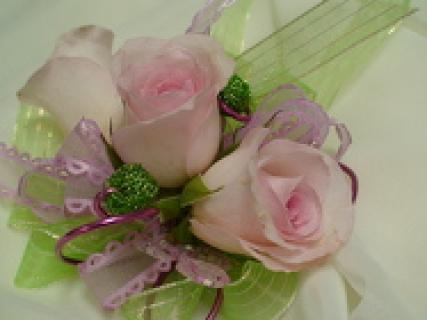 Soft and Feminine Corsage