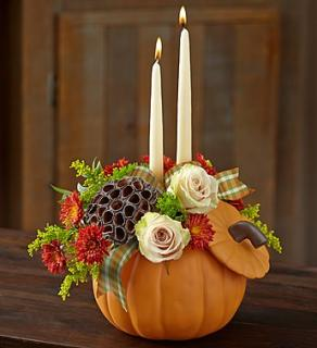 "Autumn Essenceâ""¢ Centerpiece"