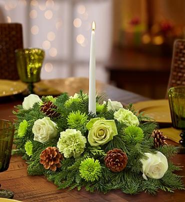 "Winter Wonderlandâ""¢ Centerpiece"