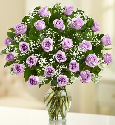 "Ultimate Eleganceâ""¢  Long Stem Purple Roses"